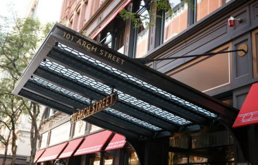 Historic Boston building using Ronstan Carbon Steel Tension Rods