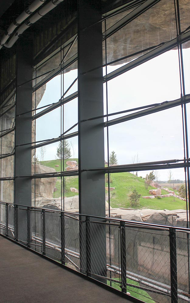 Epic Deep Space Glass Curtain Wall – a Ronstan Tensile Architecture Glazing Project