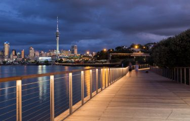 Westhaven Boardwalk Stainless Steel Cable Balustrade