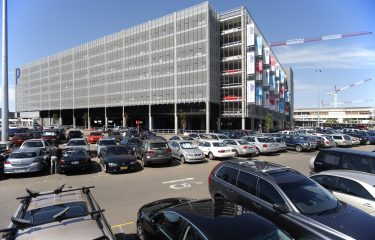 Wire Mesh Securing Sydney International Airport Carpark