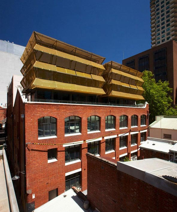 Lonsdale Street Architectural Facade