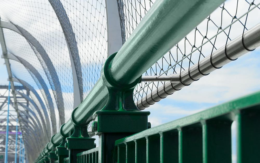 Given the significance of the Story Bridge to the city of Brisbane, it is no surprise then that when plans came together to erect a 3 meter high safety barrier, historic preservation was a top priority in the design