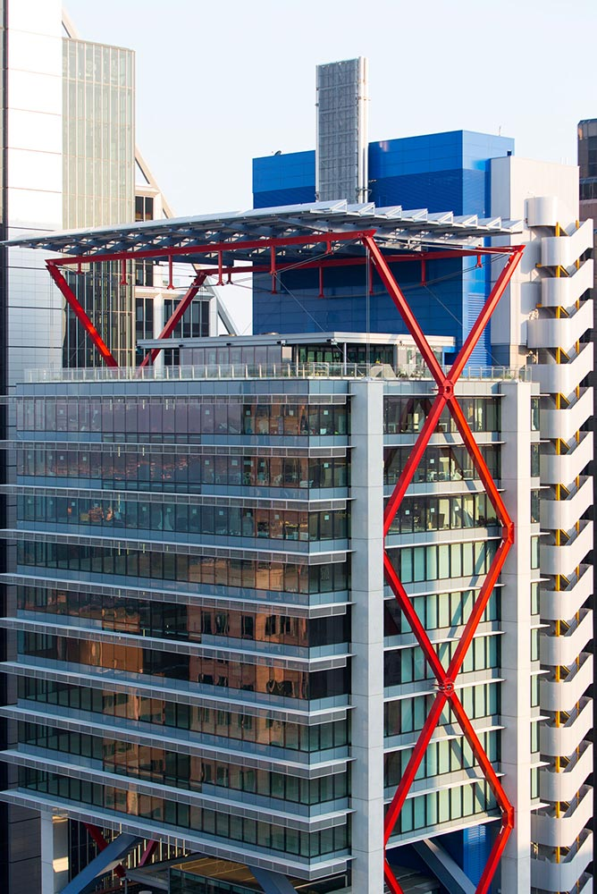 8 Chifley Square Structural Bracing - Photo: © Brett Boardman 2015