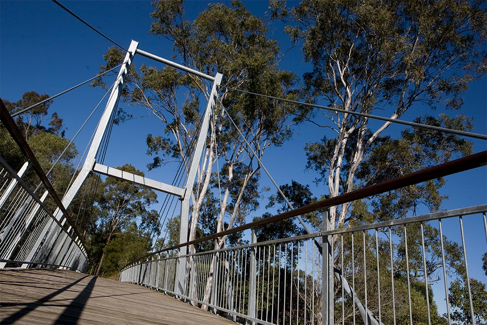 Berimba ACS Cable Suspension Bridge by Ronstan Tensile Architecture