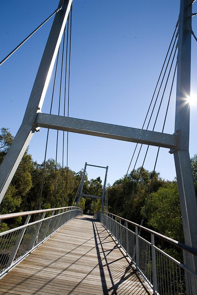 Berimba Cable Suspension Bridge