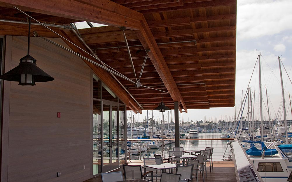 San Diego Yacht Club Tension Rod Systems