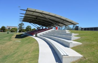 St Josephs College Grandstand Cantilever Awning
