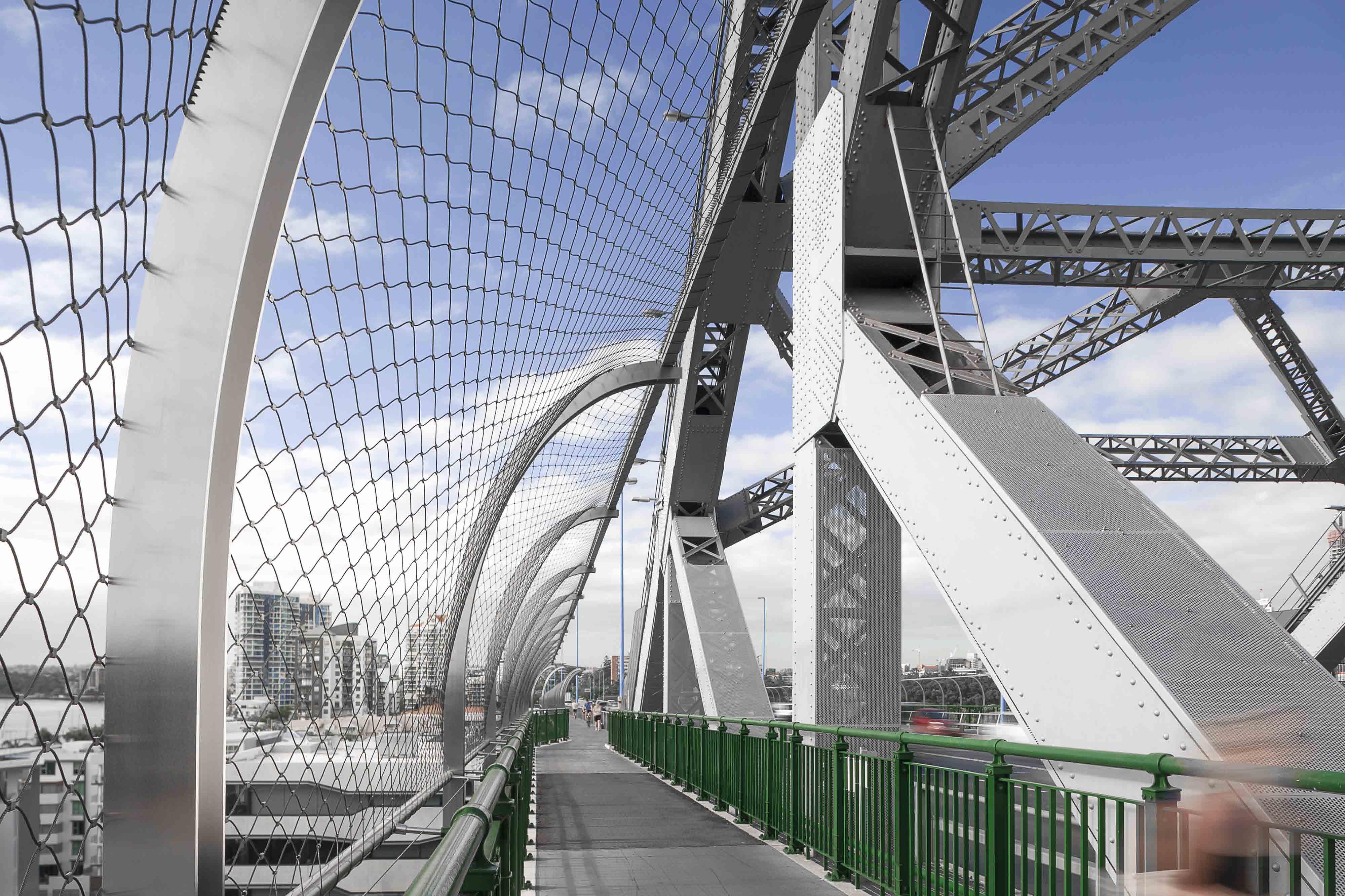 Safety Barrier on Story Bridge Australia