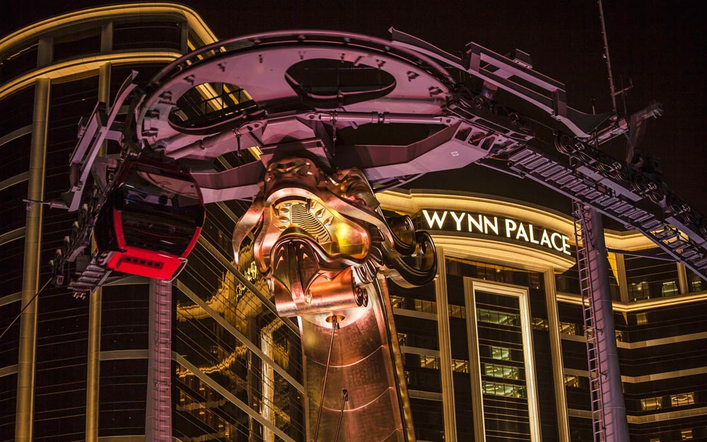 Wynn Palace Dragon Towers, Macau, China