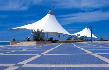 Abu Dhabi Corniche Foreshore Redevelopment - Fabric Structures