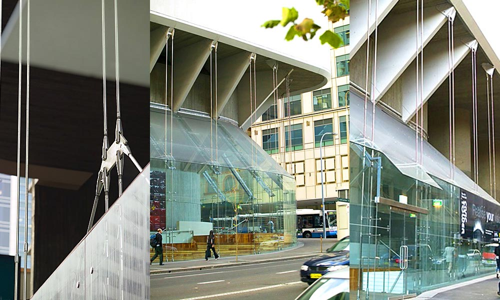 sydney masonic centre glass facade
