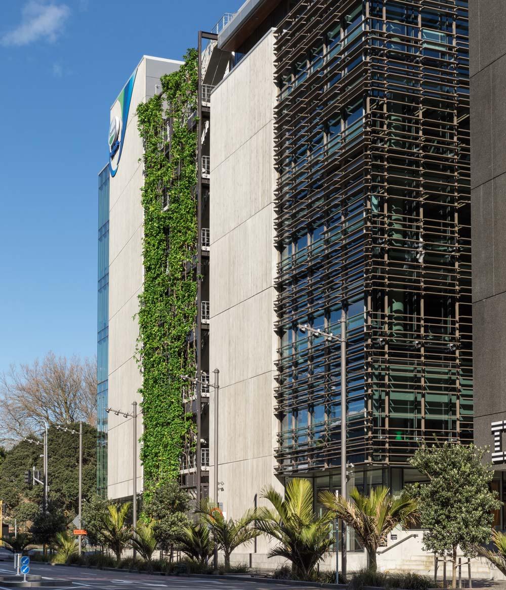 Plant Screen facade in NZ