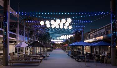 Wharf Street Catenary Lighting